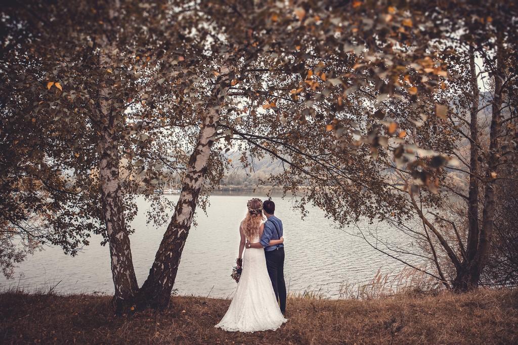 Brautpaar am See in Höxter