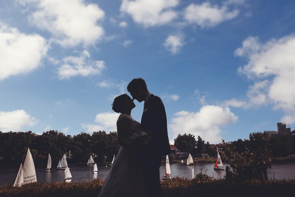 Hochzeit in Münster am Aasee