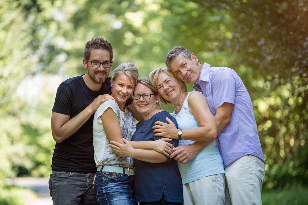 Familienshooting draußen