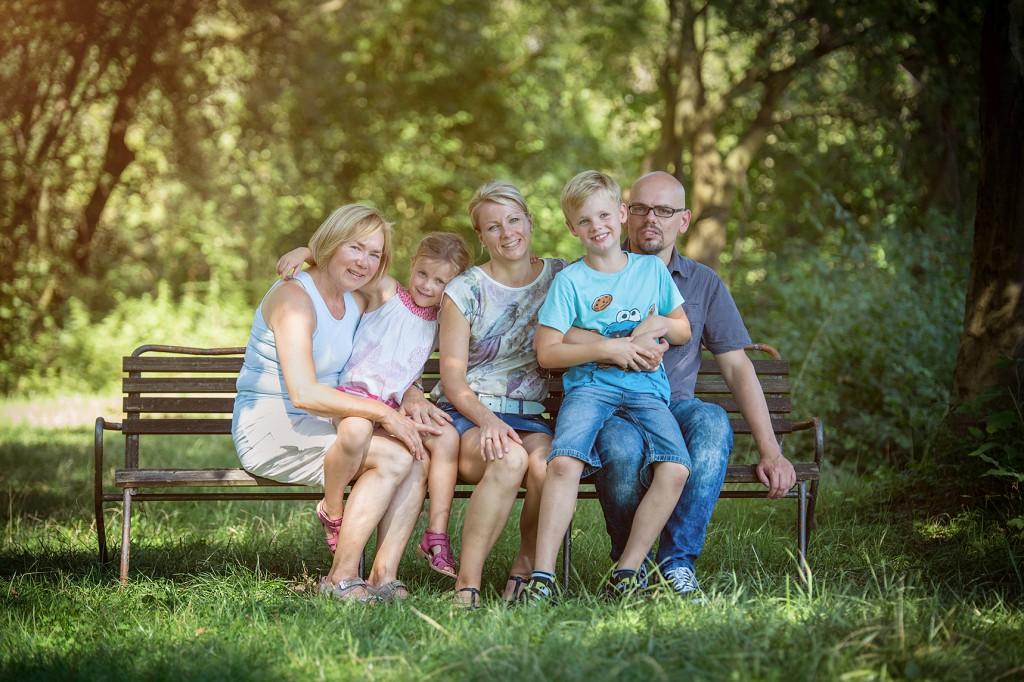 gruppenfoto familienfoto