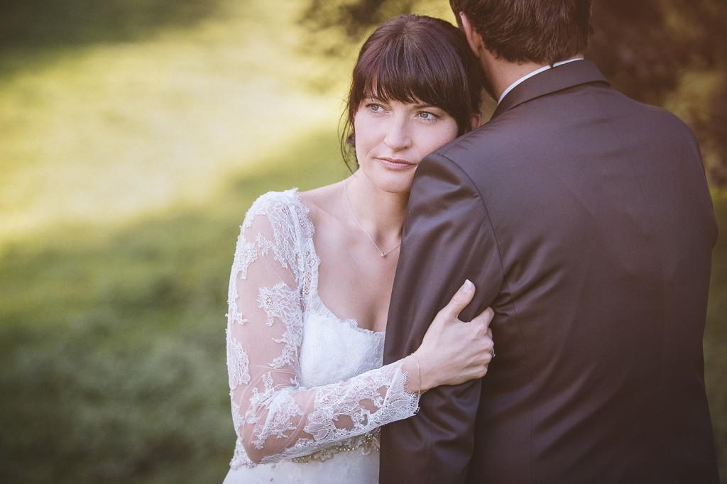 Braut Portrait in Rheder