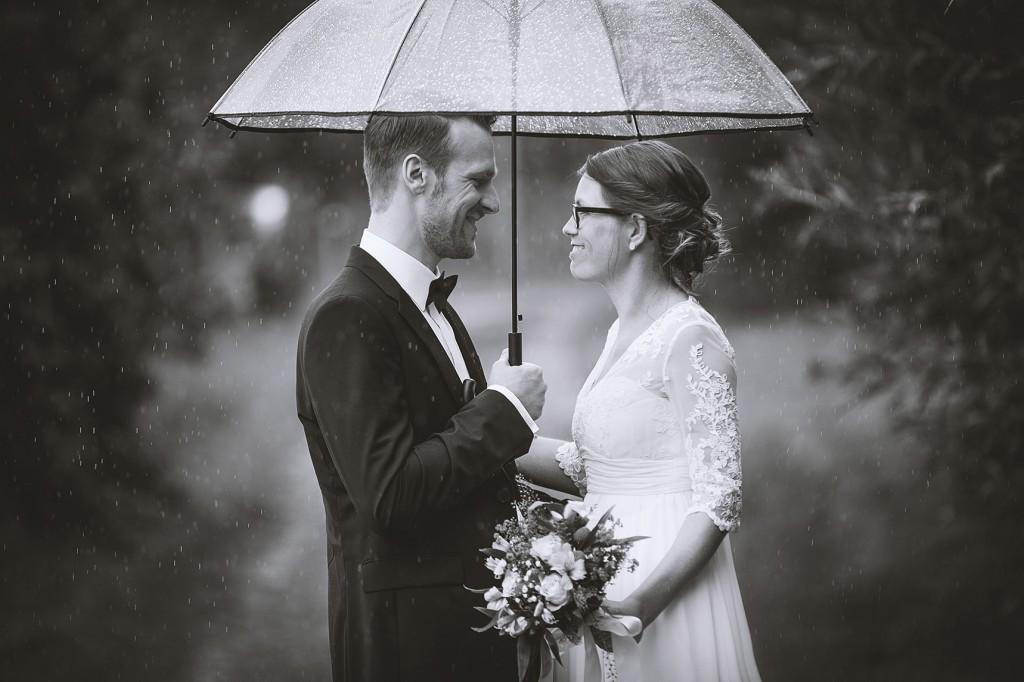 Was machen wir, wenn es bei der Hochzeit regnet