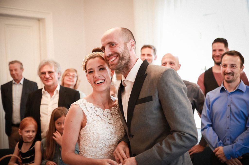 Brautpaar in der Hochzeitsvilla Steglitz Zehlendorf in Berlin