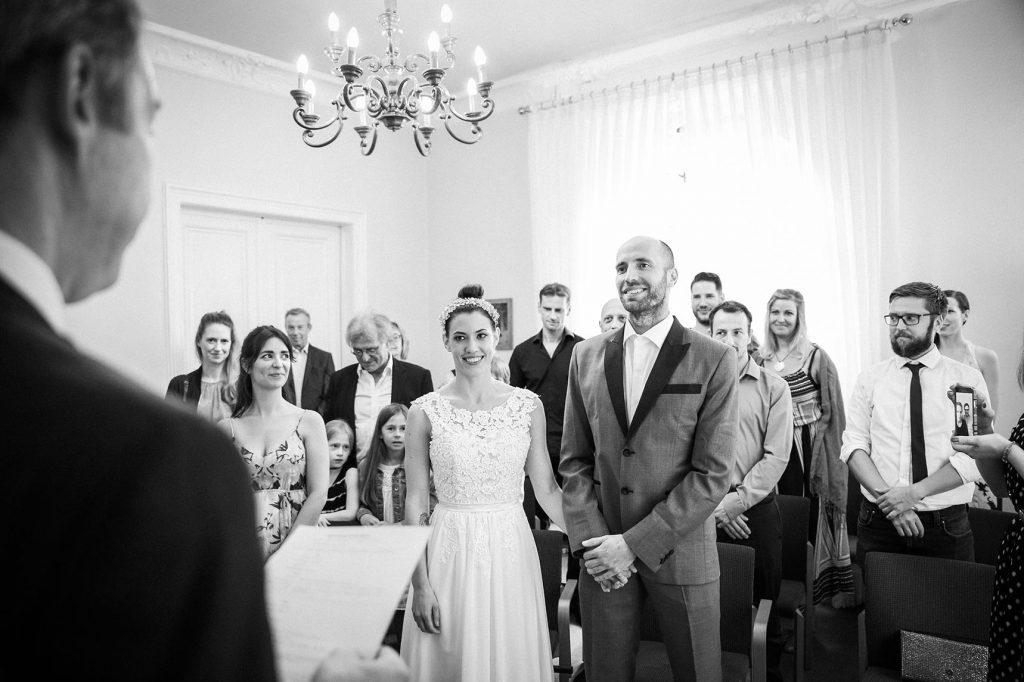 standesamtliche Trauung in der Hochzeitsvilla Steglitz Zehlendorf in Berlin