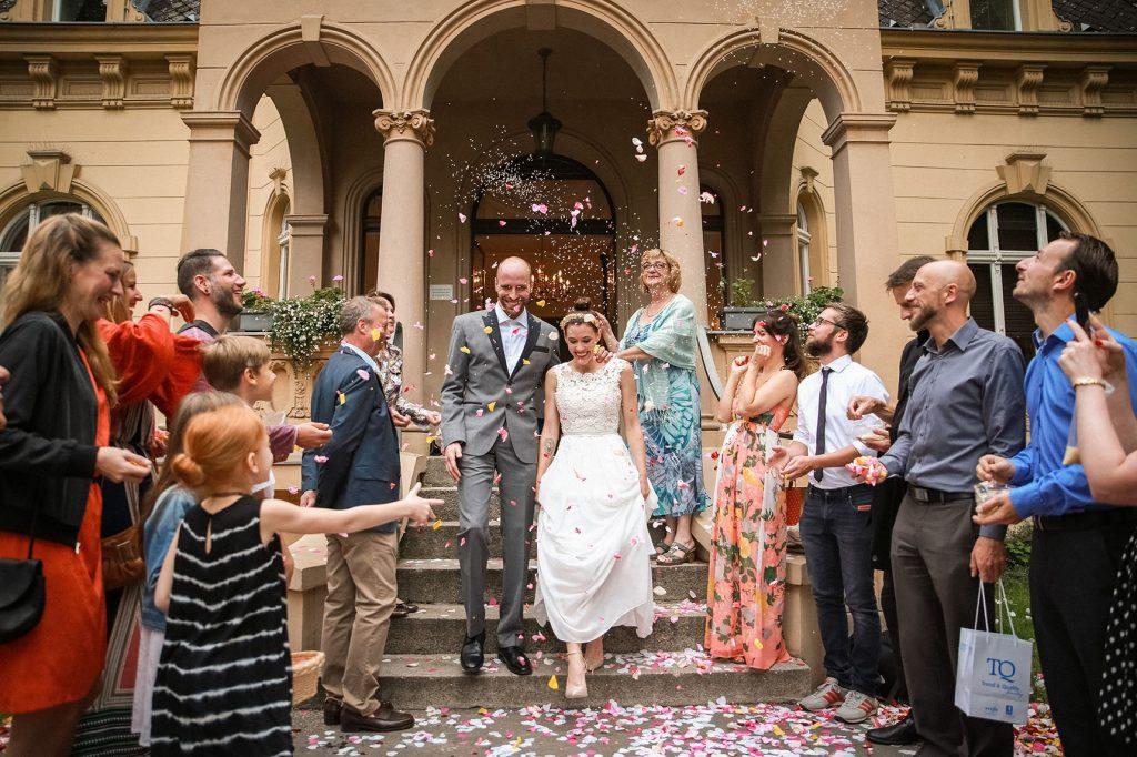 Hochzeit in der Hochzeitsvilla steglitz zehlendorf in berlin