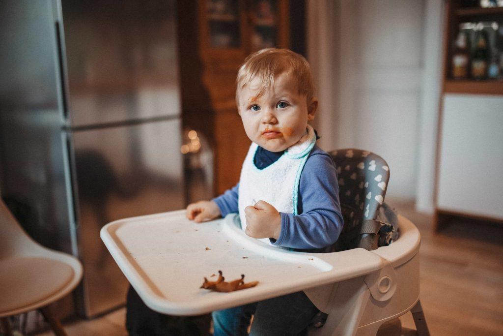 Baby nach dem Essen