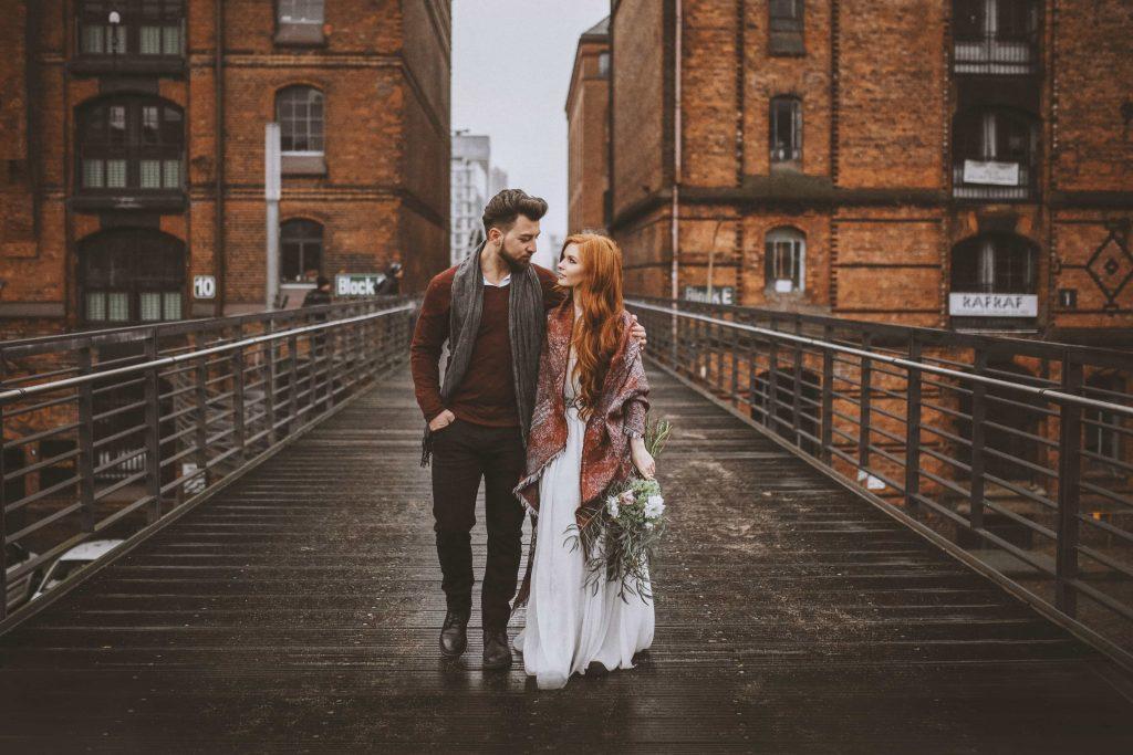 Hochzeitsfotos in der Speicherstadt