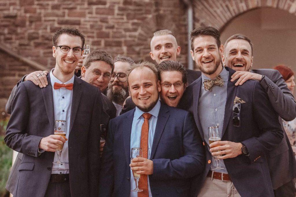 freie Trauung Gruppenfoto NRW