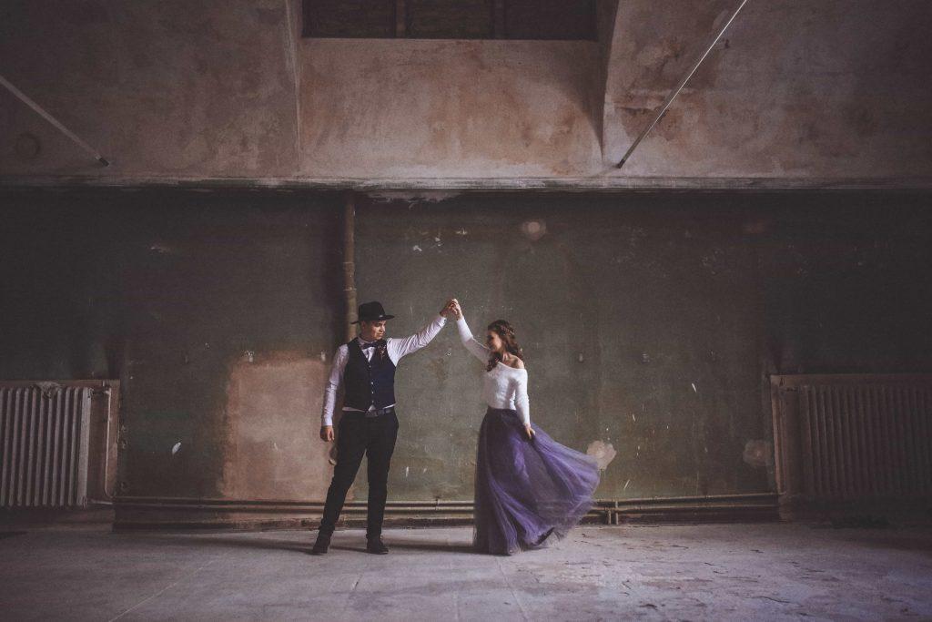 Paar beim Tanzen