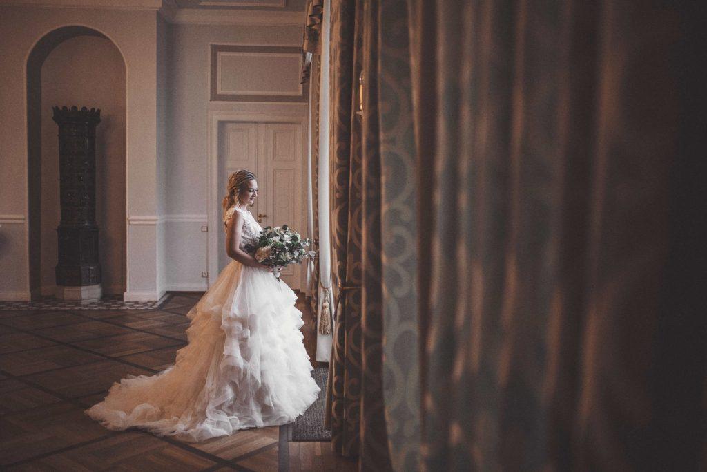 Braut im Schlosssaal Ovelgönne