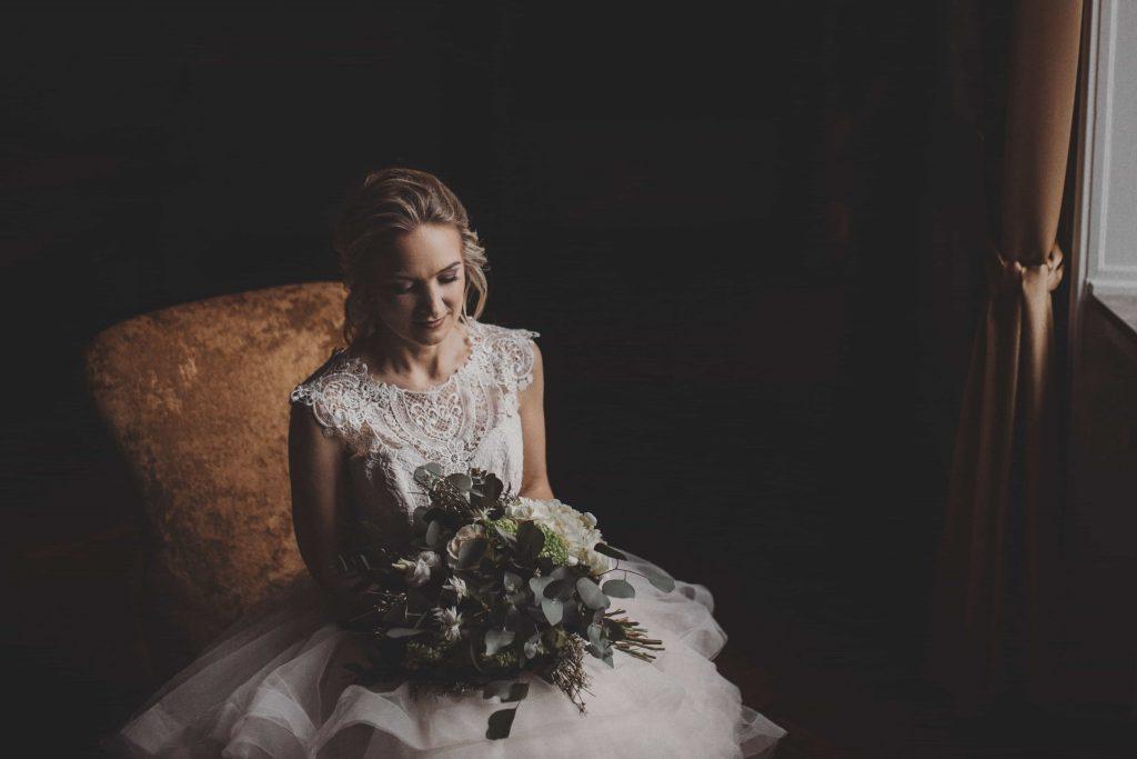 Braut im Schloss Ovelgönne