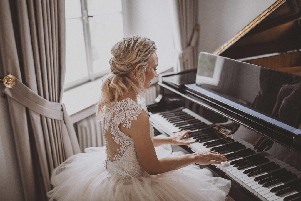 Braut spiel Klavier Schloss Ovelgönne