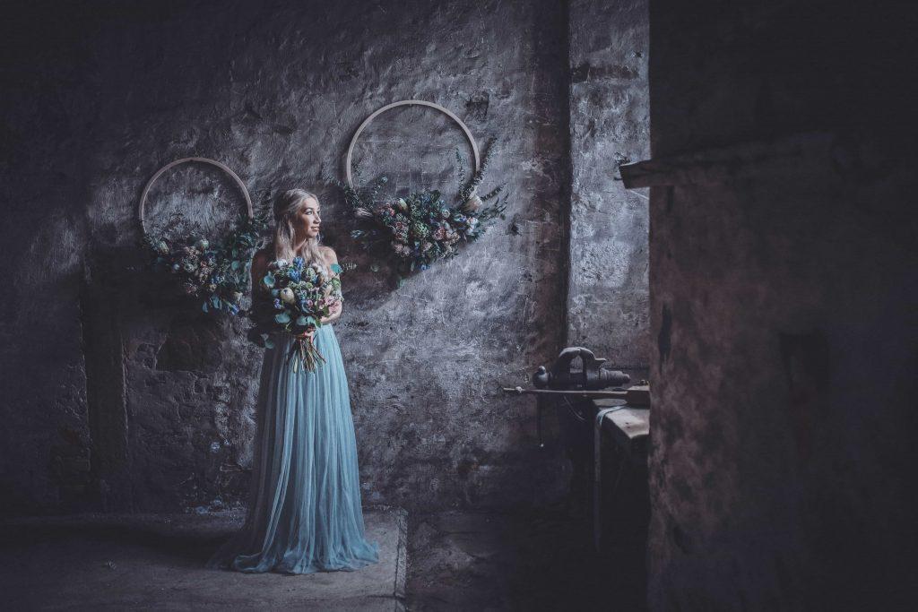 Hochzeit in Blau Corvey